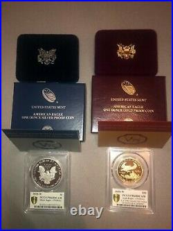 End of World War II 75th Anniversary American Eagle Gold and Silver Proof Coins