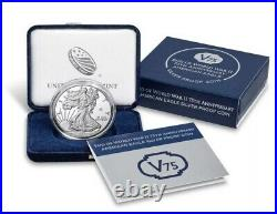 End of World War II 75th Anniversary American Eagle Silver Proof Coin BRAND NEW