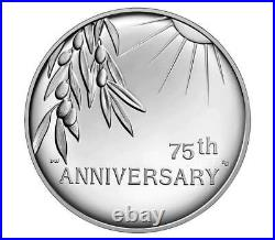 End of World War II 75th Anniversary Silver Medal IN HAND UNOPENED READY TO SHIP