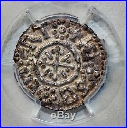 England Offa 780-792 Viking King Mercia Silver Penny PCGS XF Det Medieval Coin