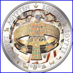 Fiji 2012, BRACELET OF QUEEN AHHOTEP, Egypt, only 999 made! $1 Silver Proof Coin