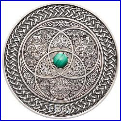 Fiji 2015-2018 Mandala Art Coin 4pcs Set Silver Antique Finish World Mitage 500