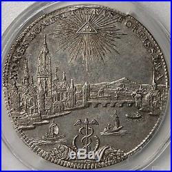 Frankfurt 1772 City View Silver Thaler PCGS AU55