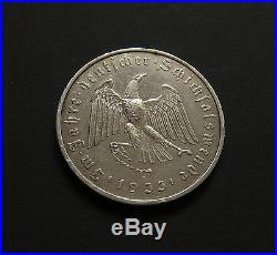 GERMANY MEDAL 1933 Third Reich BERLIN WWII SILVER RARE Colbert c-30