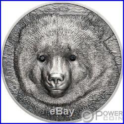 GOBI BEAR Wildlife Protection 1 Oz Silver Coin 500 Togrog Mongolia 2019