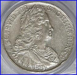Hungary 1740 Charles VI Silver Thaler PCGS AU55