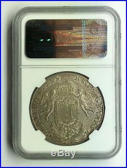 Hungary 1786 Joseph II Silver Thaler NGC MS63