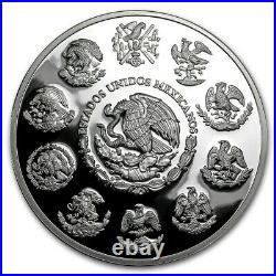 IN STOCK LIBERTAD MEXICO 2020 5 oz Proof Silver Coin in Capsule Mintage of 2,950