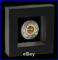 In Stock 2019 ABACUS 2oz. 9999 SILVER $2 ANTIQUED COIN