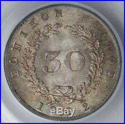 Ionian Islands 1862 Silver 30 Lepta PCGS MS64