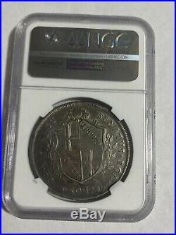 Italy 1797 Papal States Scudo Of 10 Paoli Silver Coin NGC XF45