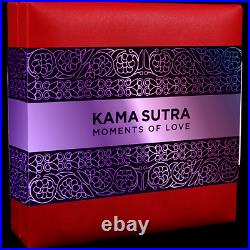 Kama Sutra Moments of Love 3 oz Antique finish Silver Coin CFA Cameroon 2020