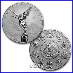 Key Date Libertad Mexico 2017 1 Oz Reverse Proof Silver Coin In Capsule