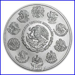 LIBERTAD MEXICO 2017 5 oz Silver Brilliant Uncirculated Coin BU