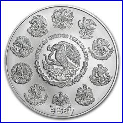 LIBERTAD MEXICO 2018 5 oz Silver Brilliant Uncirculated Coin BU SALE