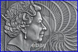 Leonardo Da Vinci World's Greatest Artists 2 oz Silver Coin Republic Ghana 2019