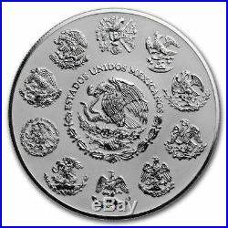 Libertad Mexico 2019 5 Oz Reverse Proof Silver Coin In Capsule