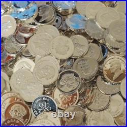 Lot of 120 1 gram. 999 Silver Bullion Silver bar Round mixed random Wpz712