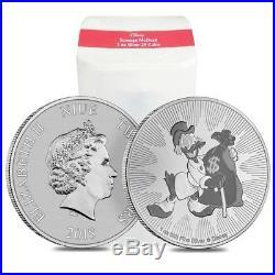 Lot of 5 2018 1 oz Niue Silver $2 Disney Scrooge McDuck BU