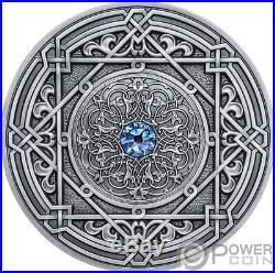 MORESQUE Mandala Art 3 Oz Silver Coin 10$ Fiji 2018