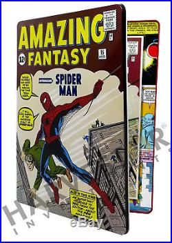 Marvel Comics Amazing Fantasy #15 Silver Foil Cgc 9.9 Mint First Release