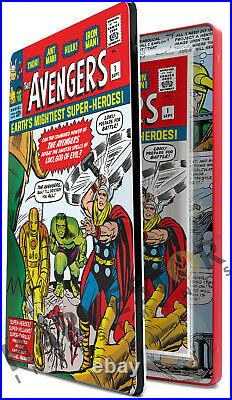Marvel Comics Avengers #1 Silver Foil 1 Oz. Fourth In The Series