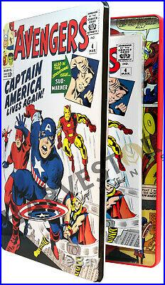 Marvel Comics Avengers #4 Silver Foil 1 Oz. Capt. America 2nd In Series