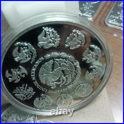 Mexican Libertad. 999 Silver 2006 5 oz PROOF! RARE! Only 700 Minted! Collectors