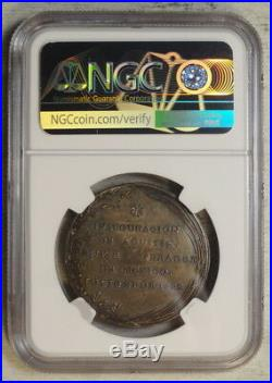 Mexico 1822 Proclamation Medal, Iturbide, Grove 490b, CHOICE Almost Uncirculated