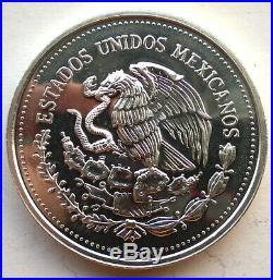 Mexico 1986 World Cup 200 Pesos 2oz Silver Coin