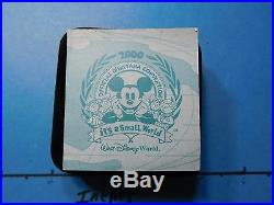 Mickey Mouse Disney 2000 It's A Small World Convention 999 Silver Coin 500 Made