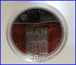 Mongolia 2008 The New 7 Wonders of the World Silver Coloured Proof Coin Set