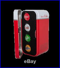 NEW 2020 Coca-Cola Vending Machine Silver 4-coin set SpriteFantaDiet Coke