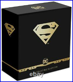 New Zealand 2021 1 Oz Silver Proof Coin- SUPERMAN Shield