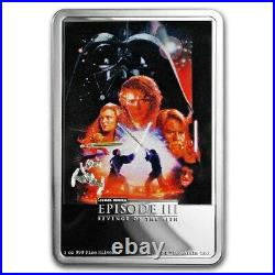 Niue 2018 1 oz Silver Proof Coin- Star Wars Revenge of the Sith