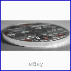 Niue 2020 Red-Back Spider Deadly $10 5 Troy Oz Pure Silver Color Proof FULL OGP