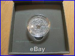 Niue Islands 2014- Canyon Diablo Meteorite, $1, ONLY 666 MADE! Antique, + box