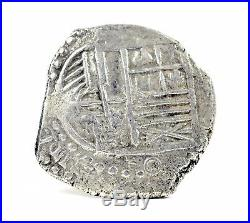 Nuestra Senora de Atocha Philip III 8 Reales Potosi Mint Silver Coin 25.2 GRAMS