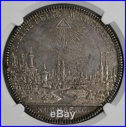 Nurnberg 1765 City View Silver Thaler NGC AU58