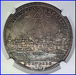 Nurnberg 1779 City View Silver Thaler NGC AU53