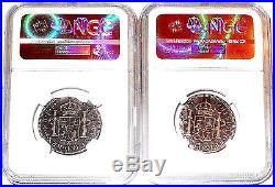 ONE(1) 1783 MO FF 2 Reales El Cazador Shipwreck Coin, NGC Certif Very Good Condit