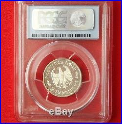 PCGS PR-63 Deep Cameo NAZI PROOF 1934-F 2 ReichsMark Silver COIN-Germany Reich