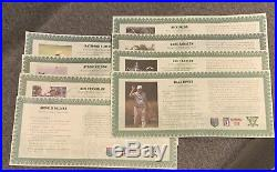 PGA World Golf Hall of Fame Lot of 12 Coins with Case. 999 Silver Medallions