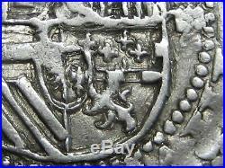 Philip II Bolivia 4 Real Cob Potosi P/p L/l Exceptional Spain Colonial Spanish