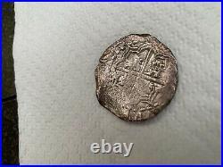 Philip III 8 Reale Potosi 1600 Silver Coin Atocha Shipwreck Spanish Treasure