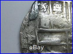Philip IV 8 Real Cob Potosi Assayer P Bolivia Lions Change Very Scarce Spain