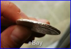 RUSSIAN Silver Coin from Russia 1 Rouble 1741 edge inscription