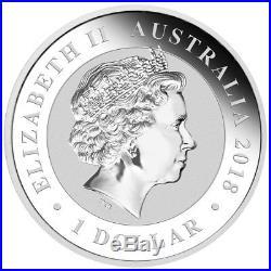 Roll of 20 2018-P Australia 1oz Silver Bird of Paradise $1 BU SKU53597
