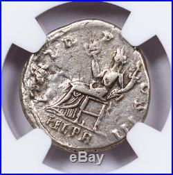 Roman Empire, Silver Denarius of Hadrian (AD 117-138) NGC VF SKU52255