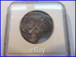 SAO JOSE Mexico 4 Reales Silver SHIPWRECK Coin NGC Spanish COB Sunken Treasure